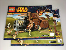 LEGO ® Star Wars de recette 75058 MTT ungelocht BA Instruction