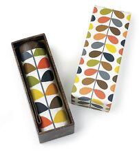 Orla Kiely by Fulton Designer Gift Box Microslim Umbrella Multi Stem