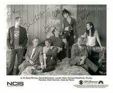 NCIS CAST SIGNED AUTOGRAPHED 8x10 RP PHOTO MARK HARMON PAULEY PERRETTE HOLLY