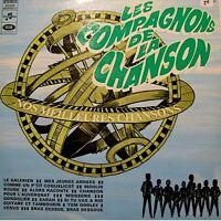 ++COMPAGNONS DE LA CHANSON le galerien/mes jeunes années/moulin rouge LP VG++