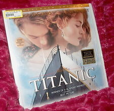 LD Laserdisc TITANIC Kate Winslet Leonardo De Caprio  Dolby AC-3