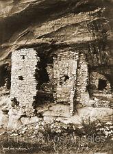 "John K. Hillers Photo, ""Ruins Near Ft. Wingate"" Arizona, 1871"