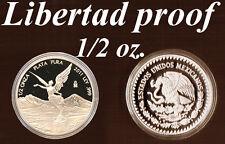 1/2 Oz SILVER-Coin LIBERTAD 2011 Mexico Liberty/ Eagle+Snake only 5000 PROOF