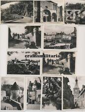 11x Orig. Kauf-Foto Kirche Festung Pkw Brücke in AVALLON Yonne Frankreich 1940