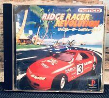 Ridge Racer Revolution Sony Playstation JAPAN IMPORT Namco Ps1 Vintage US SELLER