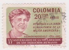 (COA-221) 1964 Colombia 20c air human rights