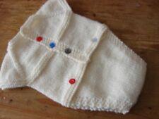 Nuevo Traje de salto de avena Tejido a Mano 14 in (approx. 35.56 cm) 36 CMS recién nacido