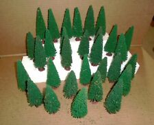 "=  HO Gauge Train Layout Accessories .. ""Lot of (30) 5-1/2"" Pine Trees"""