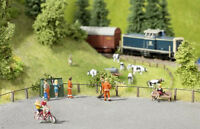 Noch Laser Cut Road Fencing (30 Posts/50cm Wire) 14232 HO scale