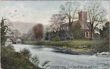 The Church & Bridge, CROMFORD, Derbyshire