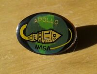 Apollo 7 NASA Official Space Shuttle Lapel Pin Schirra Cunningham Eisele