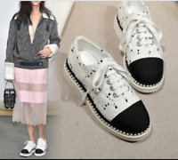 Womens Canvas Breathable Casual Lace Up Fashion Sneaker Leisure Flat Heel Shoes