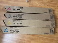 Ricoh MP C3502 Toner Set CMYk