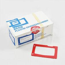 RENA Plastik Einsteckrahmen Rahmen für Adressette 108 Stück Spirit-Adressierung