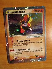 LP Pokemon HITMONCHAN EX Card RUBY and SAPPHIRE Set 98/109 Ultra Rare Holo AP