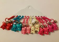 Wholesale Lot of 12 Teddy Bear Backpack Clip-Ons Stocking Stuffers Teacher Gifts