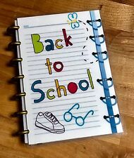 Back to School Front/Back Cover Set for use with the MINI HAPPY Planner