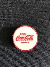 "Vintage Plastic Enjoy Coca Cola Pencil Sharpener 1"" Round New Collectible"