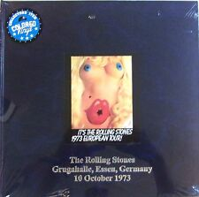 ROLLING STONES 2LP VINYL - HARDBOOK COVER - Grugahalle - LEATHER EDITION