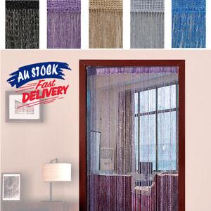 Bead String Fly Screen Door Curtain Divider Window Decoration Tassel Room Panel