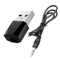 3.5mm Wireless USB Bluetooth 4.0AUX Audio Stereo Music Car Receiver Adapter·Neu
