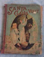 Santa Claus Visit 150 Santa Claus Series M A Donohue - Collector Vtg Book
