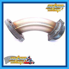 GO KART EXHAUST HEADER KT100S POWERBOOST 36MM SHORT STAINLESS NEW NO LEAK DESIGN