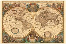 RAVENSBURGER 17411 ANTIQUE WORLD MAP 5000 PIECES JIGSAW PUZZLE MAPPA WELTKARTE