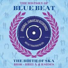 History Of Blue Beat-The Birth Of Ska BB101-BB125 A & B Sides 3-CD NEW SEALED