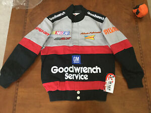 Vintage NASCAR Kevin Harvick Goodwrench JACKET Racing NWT Kid Size  XSmall Youth