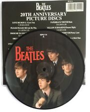 """BEATLES - Can't Buy Me Love - UK 7"""" Picture Disc + Rarely seen Catalogue insert"""