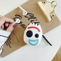 Cartoon Toy Story Forky Airpods Silicone Case Protective Cover For Apple Airpod