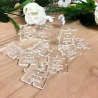 Personalised Wedding Table Confetti ENGRAVED Mr & Mrs Decorations Favours Gift