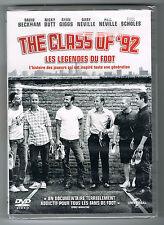THE CLASS OF '92 - DAVID BECKHAM - 2014 - DVD - NEUF NEW NEU