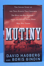 Mutiny by David Hagberg and B Gindin True Hunt For Red October 1st Print, 1st Ed