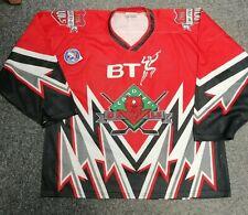 Game Worn Cardiff Devils Jersey - Doug McCarthy
