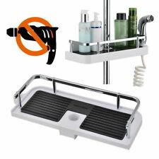 Bathroom Shelf Shower Pole Storage Caddy Rack Organiser Tray Holder Accessorys
