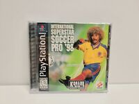 International Superstar Soccer Pro '98 (Sony PlayStation 1) PS1 Complete TESTED