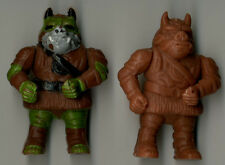 Star Wars Vintage Mexican Gammorean Guard Figures Painted and Unpainted