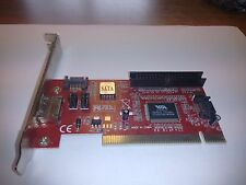 CX-VT6421A 3-Port SATA and IDE PCI Controller Card with RAID Support