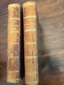 A Thiers. Histoire de la révolution française. 1865.