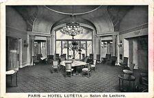 CPA Paris 6e Paris-Hotel Lutétia-Salon de Lecture (312884)