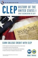 CLEP® History of the U.S. I Book + Online (CLEP Test Preparation), Editors of RE