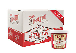 Bob'S Red Mill Gluten Free Oatmeal Cup, Apple & Cinnamon, 2.36-Ounce (Pack of 12