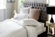 Pair of Sheridan Whitfield 700TC Cotton Standard Pillow Cases in White RRP $99.9