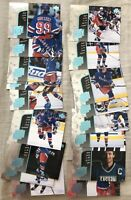 Wayne Gretzky Year of Great One 1998-99 UD partial insert card set 19 different