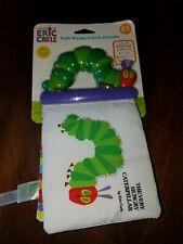 New soft baby book The Very Hungry Caterpillar by Eric Carle fun plastic handle