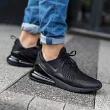 Nike Air Max 270 Herrenschuhe Turnschuhe Sneaker  Black Black AH8050 005  SALE %