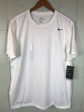 Men's Nike Dri-Fit Training Athletic Top Size Large L White Nwt