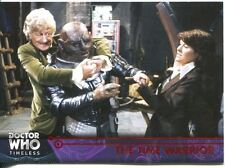 Doctor Who Timeless Red Parallel [##/25] Base Card #17 The Time Warrior